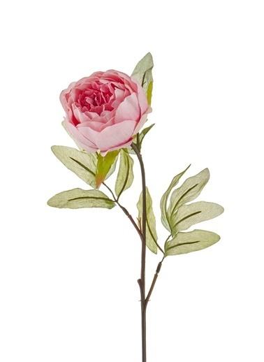 The Mia Yapay Çiçek Gül Pembe Pembe